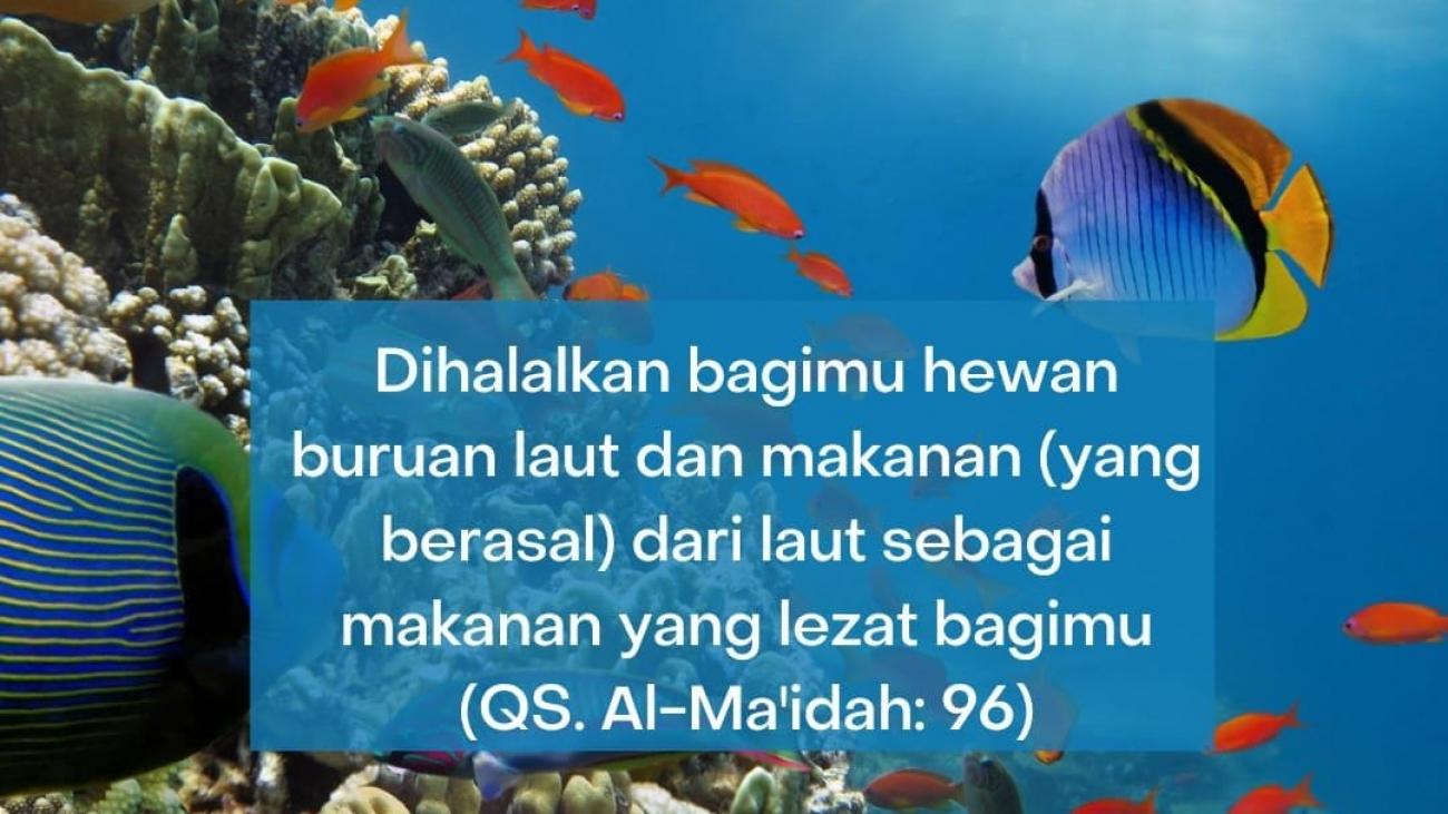 halalnya hewan laut